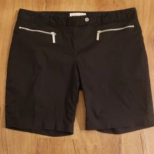 Michael Kors Front Zippered Shorts